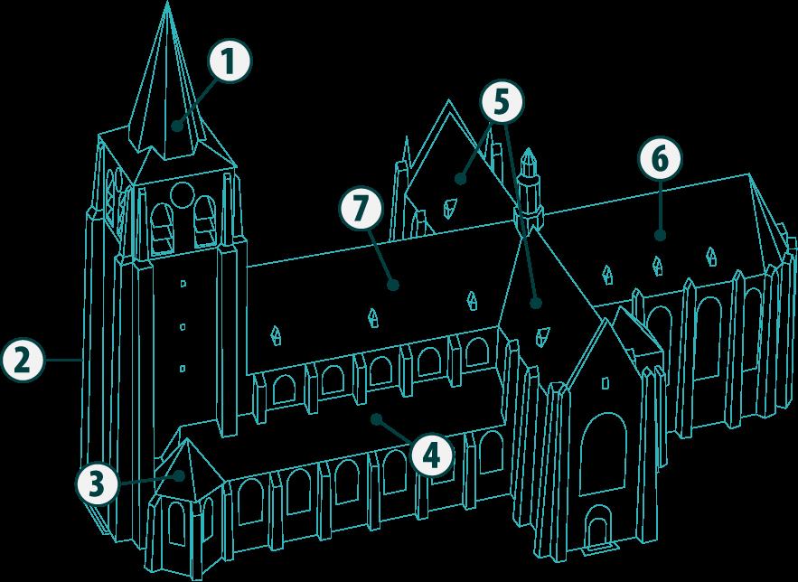 Illustratie-kerk
